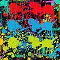 Paint Splatter - Black by Becca Buecher