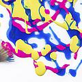 Paint Splatter by Diane Diederich