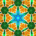 Painted Cymatics 136.00hz by Derek Gedney