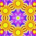 Painted Cymatics 161.66hz by Derek Gedney