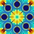 Painted Cymatics 257.00hz by Derek Gedney