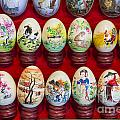 Painted Eggs In China Market by Jacek Malipan
