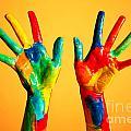 Painted Hands by Michal Bednarek