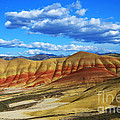 Painted Hills Blue Sky 3 by Bob Christopher