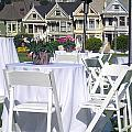 Painted Ladies Houses. by Oscar Williams