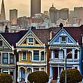 Painted Ladies San Francisco Ca by John McGraw
