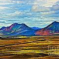 Painted Mountain by Roberta Bragan
