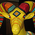 Painted Ram by Barbara Snyder