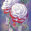 Painted Roses For Wonderland's Heartless Queen by Audra D Lemke