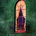 Painted Window by Sennie Pierson