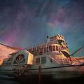 Painterly Northern Lights by Priska Wettstein
