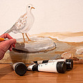 Painting A Dove by Lena Wilhite