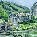 Eilean Donan Medieval Castle Scotland by Carol Wisniewski