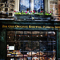 Can You See The Ghost In The Top Window At The Old Original Bakewell Pudding Shop by Doc Braham