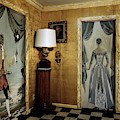 Paintings On The Walls Of Tony Duquette's House by Shirley C. Burden