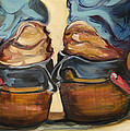 Pair Of Boots by Diane Whitehead