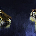 Pair Of Sumatran Tigers by Sheila Smart Fine Art Photography