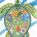 Paisley Sea Turtle by Collette Augustine