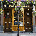 Palace Bar - Dublin Ireland by Bill Cannon