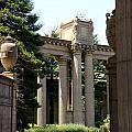 Palace Fine Arts Pillars And Urn by Christiane Schulze Art And Photography