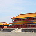 Palace Forbidden City In Beijing by Thanapol Kuptanisakorn