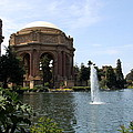 Palace Of Fine Arts And Lagoon by Christiane Schulze Art And Photography