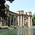 Palace Of Fine Arts Colonnades  by Christiane Schulze Art And Photography