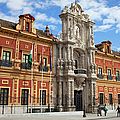 Palace Of San Telmo In Seville by Artur Bogacki