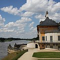 Palace Pillnitz And River Elbe by Christiane Schulze Art And Photography