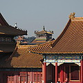 palaces at Forbidden city by Alfred Ng