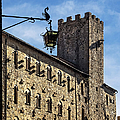 Palazzo Pretorio And The Tower Of Little Pig by Prints of Italy