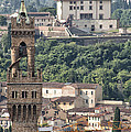 Palazzo Vecchio Tower And Forte Belvedere by Melany Sarafis