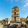 Palenque Palace Tower by Jess Kraft