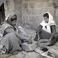 Palestine Grinding Coffee by Granger