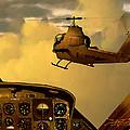 Palette Of The Aviator by Dieter Carlton