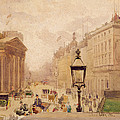 Pall Mall From The National Gallery by Joseph Poole Addey