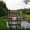 Palladian Bridge At Prior Park Landscape Garden by Hannah Southworth