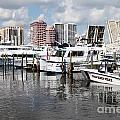 Palm Beach Docks by Bill Cobb