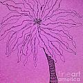 Palm Purple by Anita Lewis