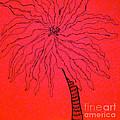 Palm Red by Anita Lewis