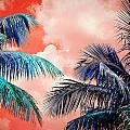 Palmscape Red by Laura Fasulo