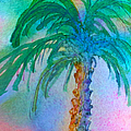 Palm Tree Study by Teresa Ascone