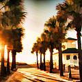 Palm Tree Sunrise by Alice Gipson