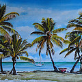 Palm Trees In The Keys by Terry Arroyo Mulrooney