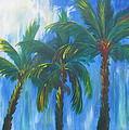Palm Trio by Kathie Camara