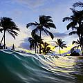 Palm Wave by Sean Davey