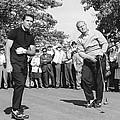 Palmer, Player And NIcklaus by Underwood Archives