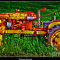 Palouse Tractor by Frank Martin