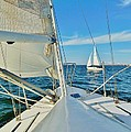 Pamlico Sound Sailing 52 4/14 by Mark Lemmon