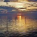 Pamlico Sound Sunset 3 12/5 by Mark Lemmon
